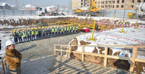 В новостройке «Кок-Жар» построят школу на деньги Азербайджана