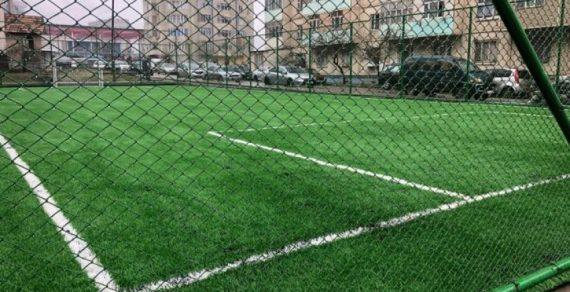 В микрорайоне «Джал» откроется  спортивная площадка