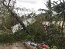 Не менее 16 человек стали жертвами тайфуна на Филиппинах