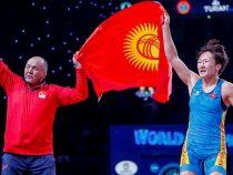 «Объединенный мир борьбы» признал Тыныбекову творцом истории этого года