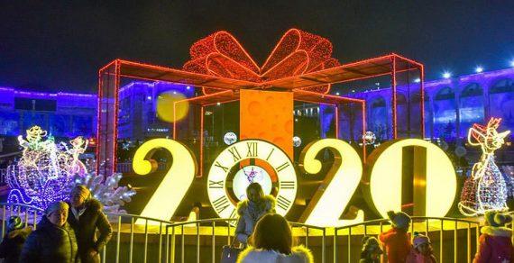 Праздничную программу подготовила мэрия Бишкека в честь Нового года