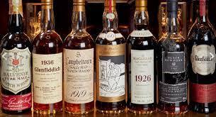 Крупнейшую в мире коллекцию виски выставили на торги