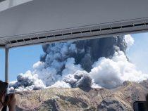 В Новой Зеландии неожиданно началось извержение вулкана