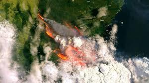 Дым от пожаров в Австралии как минимум один раз обогнёт Землю
