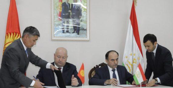 По итогам переговоров по кыргызско-таджикской границе подписан протокол
