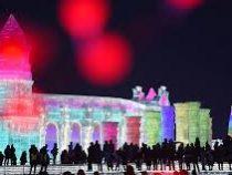 Фестиваль льда и снега стартовал в Харбине