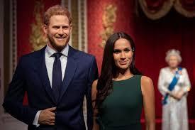 Музей Мадам Тюссо убрал из экспозиции, посвященной королевской семье восковые фигуры принца Гарри и Меган Маркл