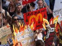 Лесные пожары в Австралии: люди вышли на улицы в знак протеста