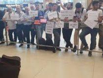 В аэропорту Стамбула введен запрет на встречу туристов с табличками