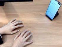 Компания Samsung презентовала виртуальную клавиатуру для смартфонов