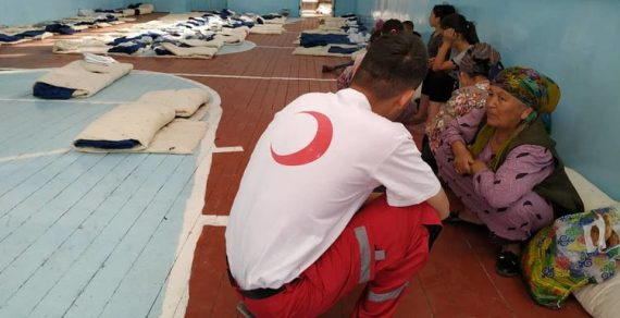 Кыргызстанцы, проживающие в местности Дахма, эвакуированы