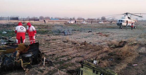 Авиакатастрофа под Тегераном: вероятность найти выживших крайне мала