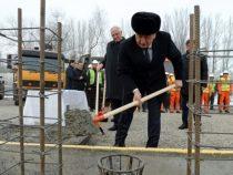 В Бишкеке началось строительство Парка дружбы Кыргызстана и Азербайджана