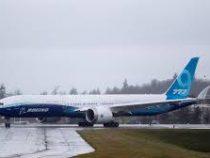Новый самолёт Boeing 777X совершил первый испытательный полёт
