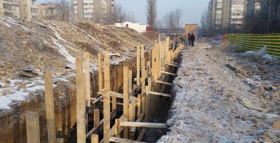 Строительство спортивной школы в Бишкеке продолжается