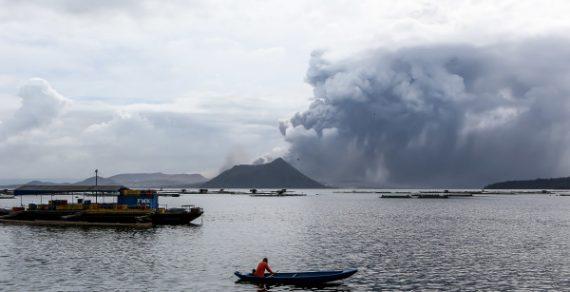 На Филиппинах проснулся вулкан Тааль