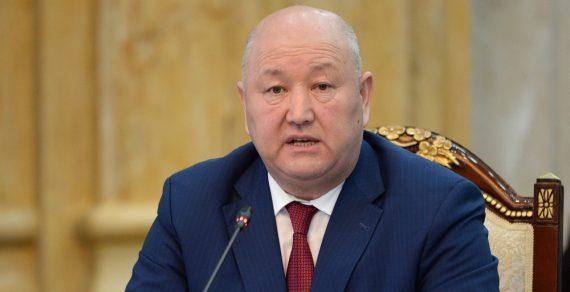 Жениш Разаков освобожден от должности вице-премьер-министра