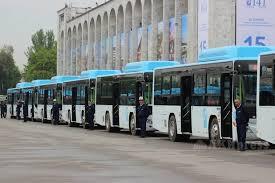 Бишкек купит 50 новых автобусов