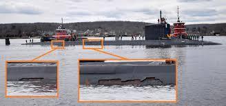 С новейшей американской атомной подлодки облезло стелс-покрытие после первого же похода