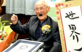 112-летний японец попал в Книгу рекордов Гиннеса