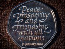 В Великобритании выпустили памятные монеты в честь Brexit