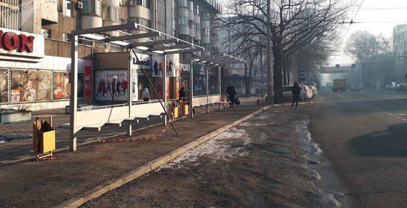 В марте мэрия Бишкека начнет реорганизацию остановочных комплексов столицы