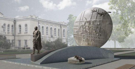 Бронзовый памятник Бишкеку баатыру готов