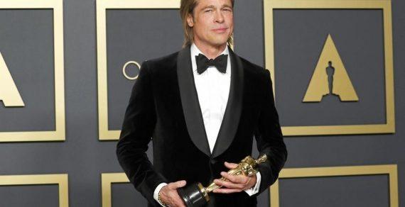 Брэд Питт получил «Оскар» за роль второго плана