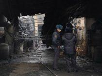 По факту пожара на складе ГСМ в Бишкеке милиция ведет проверку