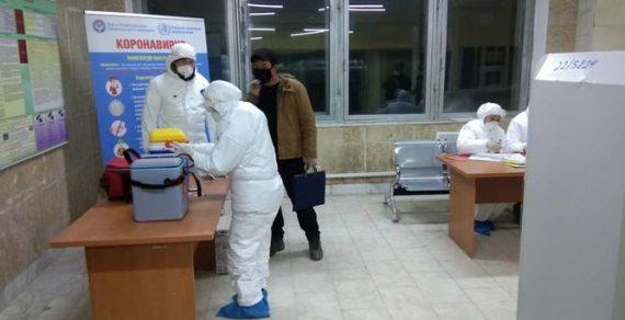 На всех КПП республики продолжают дежурить медики