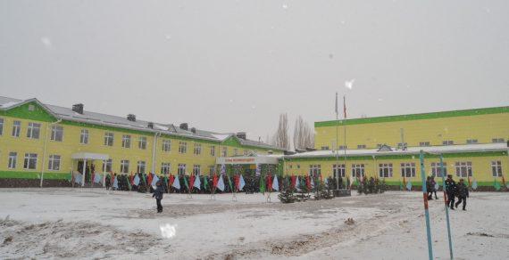Новая школа появилась в Ак-Талинском районе