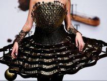 В Бельгии представили платья из шоколада