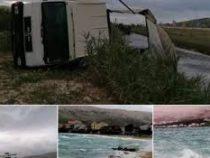 На Балканы обрушился мощный шторм