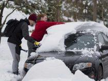 На три американских штата обрушился снежный шторм