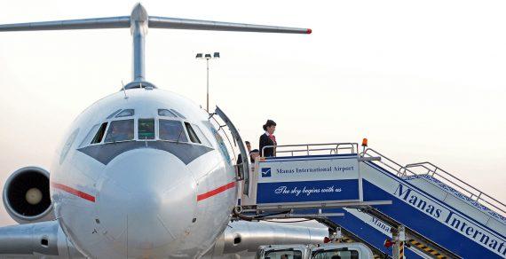 Авиакомпании отменяют рейсы изаэропорта «Манас» из-за коронавируса