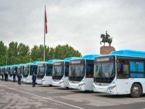 Новые автобусы помогут возобновить в Бишкеке старые маршруты