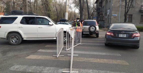 ВБишкеке установили 117 санитарно-карантинных иблокпостов