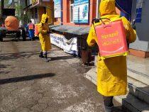В Бишкеке продолжается дезинфекция улиц и тротуаров