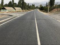 Строительство дороги «Исфана – КПП Кайрагач» продолжается