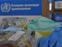 США и ВОЗ передали Кыргызстану средства индивидуальной защиты