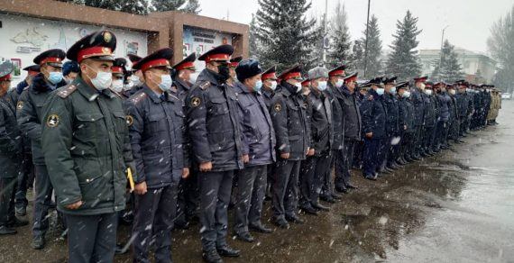 Милиция Иссык-Кульской области усиливает контроль