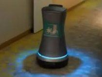 Заказав кофе, гости отеля увидели за дверью робота