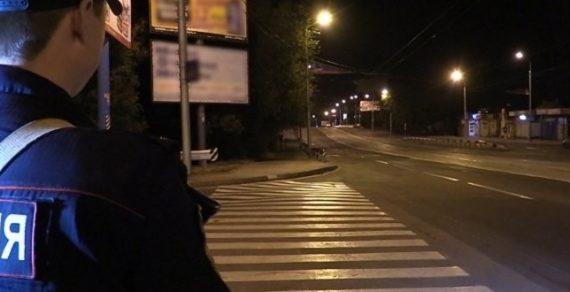 За нарушение комендантского часа задержаны 320 человек