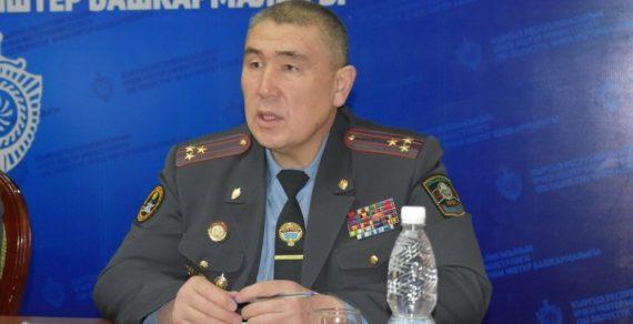 Комендант Ошского, Ноокатского, Кара-Суйского районов Малик Нурдинов обратился кместным жителям