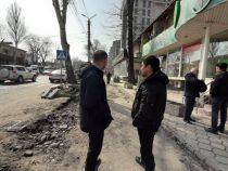 Строительству пешеходной зоны в Бишкеке мешают некоторые объекты