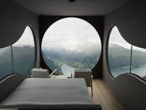 В Норвегии появились крошечные отели – скворечники