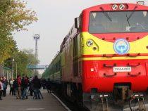 С 25 марта временно отменяются поезда Бишкек — Токмок и Бишкек — Каинды