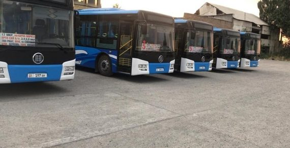 С 22 марта общественный транспорт в Бишкеке прекращает свою работу