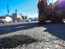 В Бишкеке на 30 улицах завершили ямочный ремонт