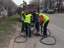 В столице начался ямочный ремонт дорог